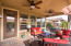 Covered Patio Area great for drinking a glass of wine on those pleasant Arizona evenings.