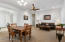 Living Room and Formal Dining Rooms