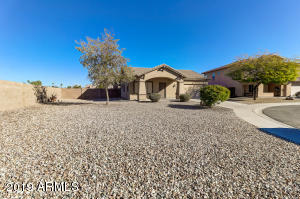 Great cul-de-sac location offers lots of privacy and a huge lot too@