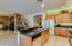 Kitchen with granite counter tops and SS Appliances