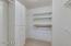 MBR suite closet.