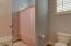 Each bedroom has its own vanity and sink