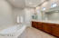 Dual sinks in Master bath