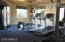 Well maintained equipment & TV's in Fitness Room