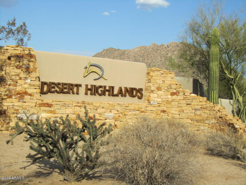 Desert Highlands Homesites Lots And Property For Sale Scottsdale