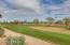 Silverado golf course behind complex