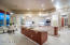 Each of the two islands have room for bar stool seating in remodeled kitchen.