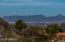 Zoomed-in view of McDowell Mountains to the northeast