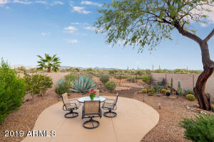 Get the morning sun while you enjoy your morning coffee and view the State Trust Land desert to the East backing to the home.