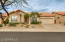 Welcome home! Gorgeous curb appeal that's easy to maintain at gated Pinnacle Peak Villas in Los Portones!