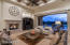 Greatroom with fireplace and wood beamed ceiling