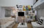 Expansive walls provide ample room to display artwork.
