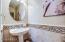 Decorative tile wainscoting