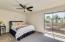 Lovely master bedroom suite is completely remodeled and has its own private balcony.