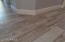 4 inch baseboards with all new tile planks