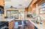 Expansive kitchen with tons of cabinetry