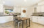 Natural light fills this beautiful kitchen