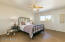 2nd master suite! Stunning room is filled with natural light and is huge!