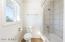 Custom tiled tub/shower combo
