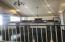Kitchen w/island..granite counter tops..steel appliances