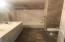 Third full bath with dual sinks
