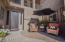 Stunning front entrance patio and screen door