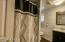 Hall Bathroom with tub/shower and nice vanity and window.
