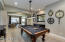 Centrally located to still enjoy guests in great room and kitchen.