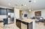 Large Kitchen - Slab Granite and Stainless Appliances