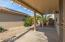 Wide, spacious patio