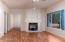 Family Room - Double Sided Fire Place