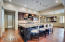Enormous Kitchen Island/Breakfast Bar!! Two Built-In Microwaves!!