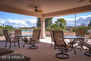 A HUGE Patio affords you expansive golf course, water and mountain views.