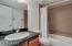 Full bath, granite counter