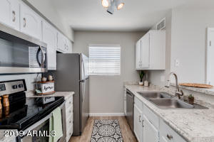 This Remodeled Kitchen is light and bright!