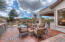 Over 1400 square feet of patio comprised of stained concrete for entertaining!