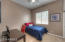 Second bedroom for guests of kids with newer carpeting!