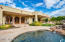 3 covered patio spaces for master, great room, family room