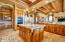 Entertainer's kitchen with dual islands and custom cabinetry