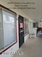 Open house 2/23 and 2/24: Noon to 4 PM. In the resort area of Litchfield Field Park . 2 bedroom; 1 bath