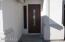 Oversize front door....