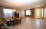 Front Living/Dinning area. Nice Tile floors