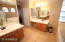 Master Bath. Double sinks. separate shower and jetted tub