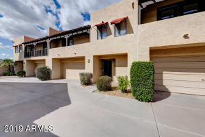 Fantastic location, mountain views, and ready for move in - this home has it all! This clean, turn-key condo is tucked away in the private condo community known as Shadow Mountain Estates Townhomes. With easy access to AZ-51, you can get anywhere in the valley within minutes, or you can stay close to home and enjoy all of the nearby shopping and dining options. Upgrades include fresh paint, tile flooring, granite kitchen counter tops, and stainless steel appliances. The upstairs guest bedrooms share a private, covered balcony offering fabulous views of the Phoenix Mountains Preserve and Piestewa Peak. It even offers a 2-car garage and low maintenance back yard!