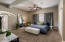 Spacious 246 SF Master Suite with 2 closets.