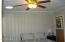 Ceiling Fan & Light in Master Bedroom