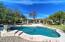 Half acre lot with 2 play areas! Pool uses CL Free water.