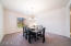 Large Dining Area or could be used as a bonus room.