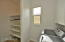 laundry room walk-in pantry / electronics room