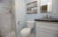 3rd bedroom/master bath, all new.